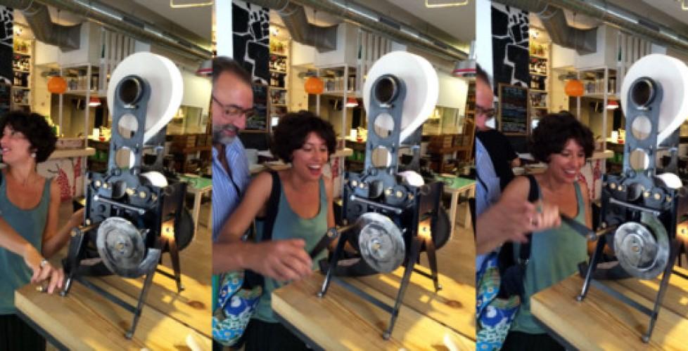 Aurelia ya está en el Restaurante Contenedor de Sevilla