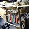 Muestra de la bicicleta xilófono en el taller de pelicanomecanico